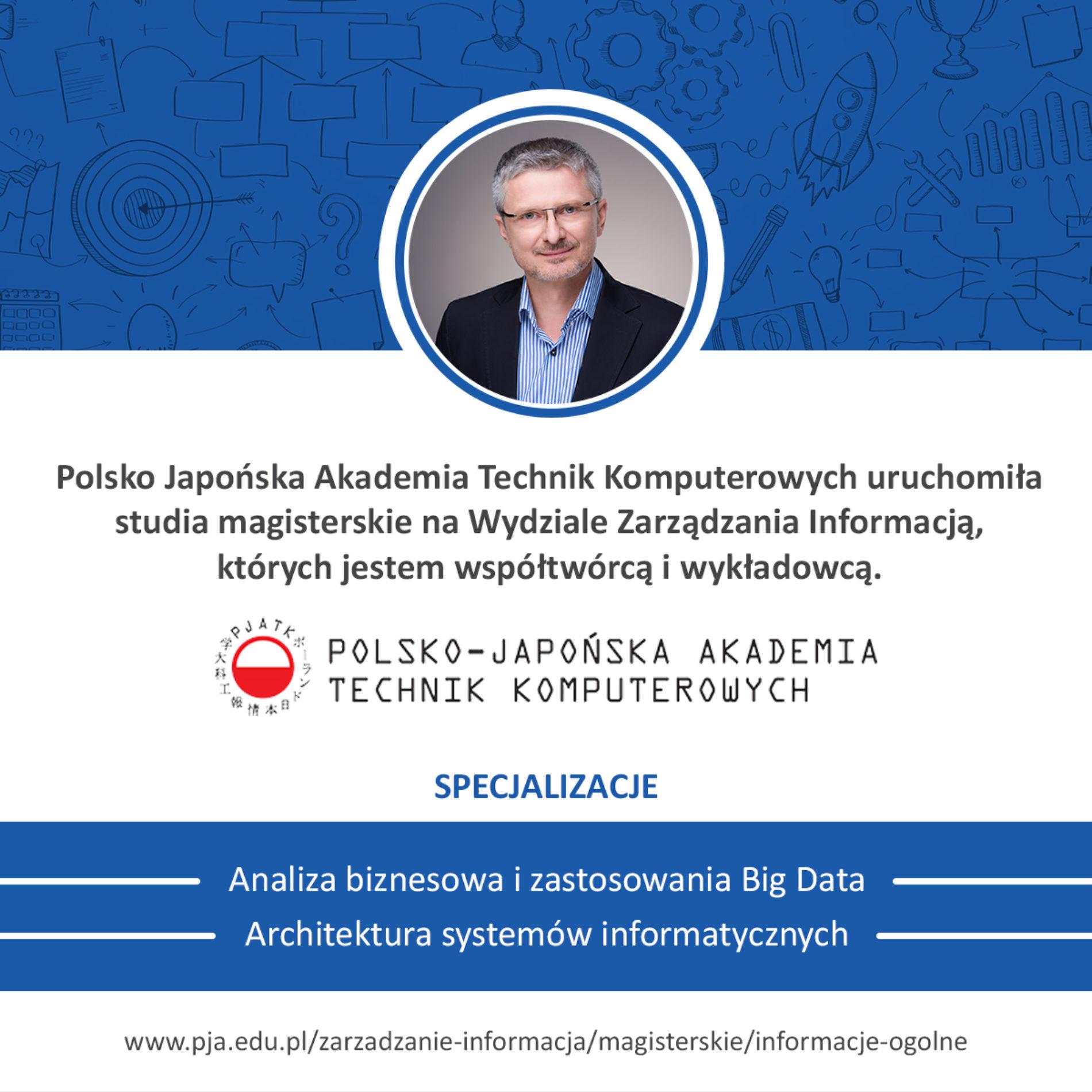 Studia magisterskie na Wydziale Zarządzania Informacją PJATK
